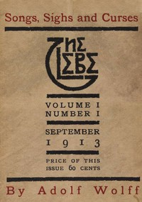 Cover of The Glebe 1913/09 (Vol. 1, No. 1): Songs, Sighs and Curses