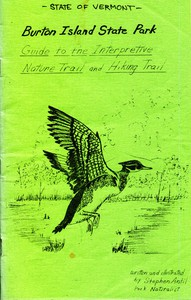 Cover of Burton Island State Park: Guide to the Interpretive Nature Trail and Hiking Trail