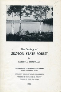 Cover of The Geology of Groton State Forest