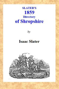Slater's [1859] Shropshire Directory