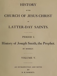 Cover of History of the Church of Jesus Christ of Latter-day Saints, Volume 5