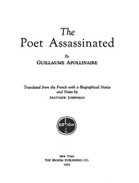 Cover of The Poet Assassinated