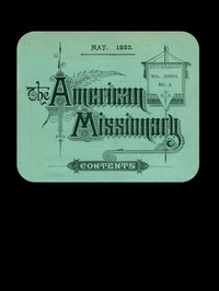 The American Missionary — Volume 37, No. 5, May, 1883