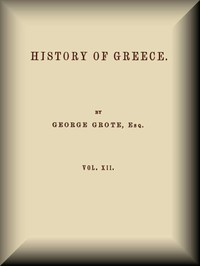 Cover of History of Greece, Volume 12 (of 12)