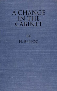 Cover of A Change in the Cabinet