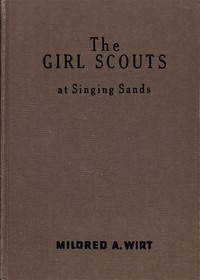 Cover of The Girl Scouts at Singing Sands