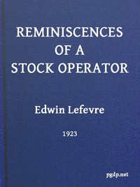 Cover of Reminiscences of a Stock Operator