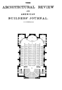 Cover of The Architectural Review and American Builders' Journal, Aug. 1869
