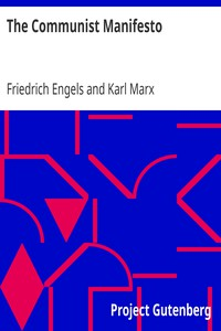 Cover of The Communist Manifesto