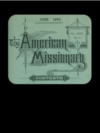 Cover of The American Missionary — Volume 37, No. 6, June 1883
