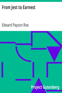 Cover of From Jest to Earnest