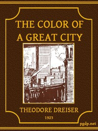 Cover of The Color of a Great City