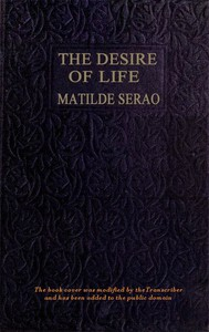 Cover of The Desire of Life