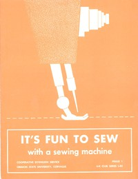 Cover of It's Fun to Sew with a Sewing Machine