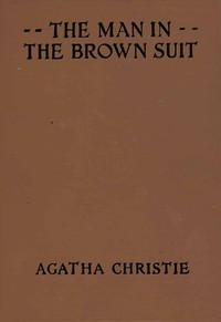 Cover of The Man in the Brown Suit