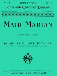 Cover of Maid Marian, and Other Stories