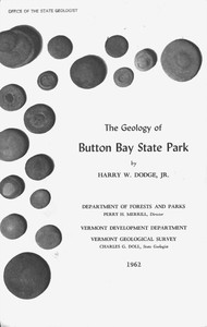 Cover of The Geology of Button Bay State Park