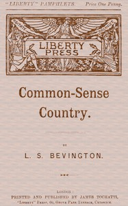 Cover of Common-Sense Country