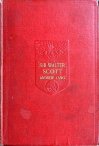 Cover of Sir Walter Scott