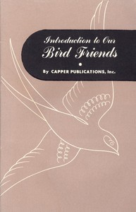 Cover of Introduction to Our Bird Friends, Volume 1