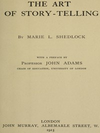 Cover of The Art of Story-Telling