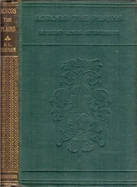 Cover of Across the Plains, with Other Memories and Essays