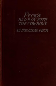 Peck's Bad Boy with the Cowboys