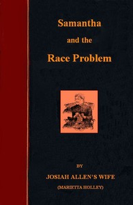 Cover of Samantha on the Race Problem
