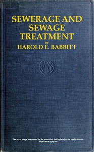 Cover of Sewerage and Sewage Treatment