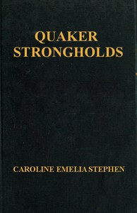 Cover of Quaker Strongholds