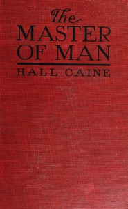 Cover of The Master of Man: The Story of a Sin