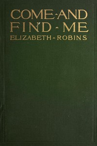 Cover of Come and Find Me
