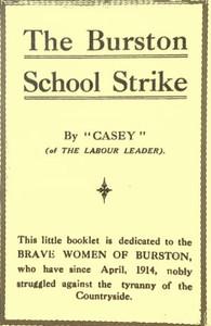 Cover of The Burston School Strike