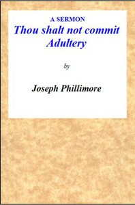Cover of A Sermon: Thou shalt not commit Adultery