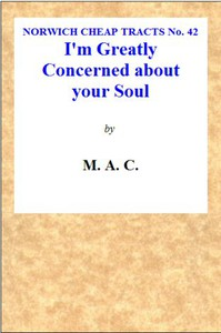 """""""I'm Greatly Concerned About Your Soul."""""""