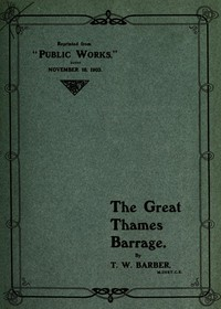 Cover of The Great Thames Barrage