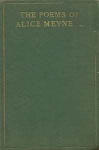 Cover of The Poems of Alice Meynell