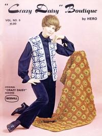 """Cover of """"Crazy Daisy"""" Boutique, Vol. No. 5"""