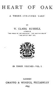 Cover of Heart of Oak: A Three-Stranded Yarn, vol. 1.