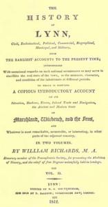 The History of Lynn, Vol. 2 [of 2]