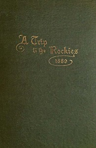 Cover of A Trip to the Rockies