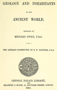 Cover of Geology and Inhabitants of the Ancient World
