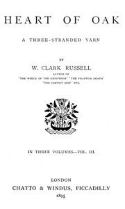 Cover of Heart of Oak: A Three-Stranded Yarn, vol. 3