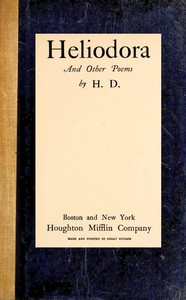 Cover of Heliodora, and Other Poems