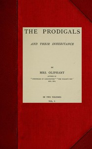 Cover of The Prodigals and Their Inheritance; vol. 1