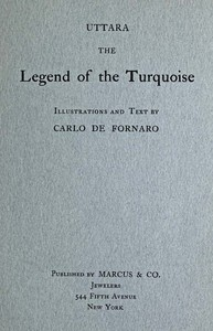 Cover of Uttara, the Legend of the Turquoise