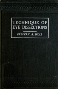 Cover of Technique of Eye Dissections