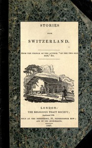 Cover of Stories from Switzerland