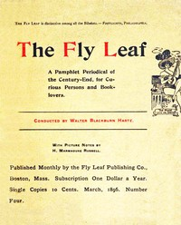 Cover of The Fly Leaf, No. 4, Vol. 1, March 1896