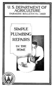 Simple Plumbing Repairs in the Home